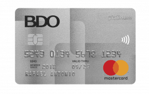 How to get a credit card 10 best credit cards in the philippines bdo platinum mastercard reheart Image collections