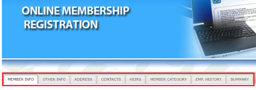 Complete the Pag-IBIG Membership Registration